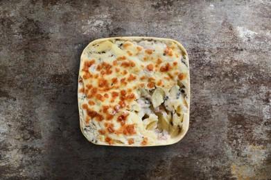 Gratin de macaronis à la truffe