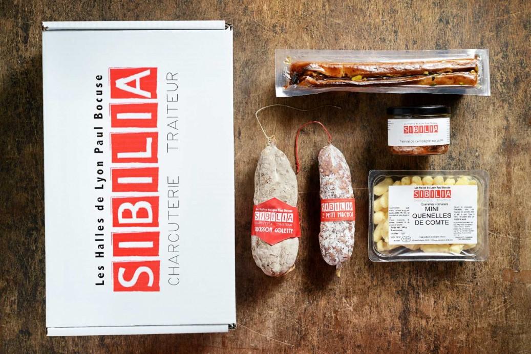 """Coffret gourmand Sibilia, formule """"Apéro"""""""
