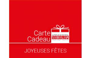 Carte Cadeau Gourmande Joyeuse Fête